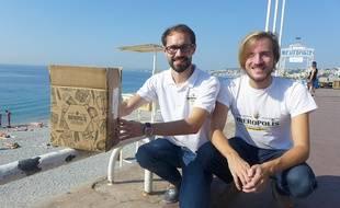 Thibaut et Cédric sélectionnent uniquement des bières artisanales pour leur plateforme Bièropolis.