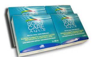 Des produits à lentilles de contact Solo Care Aqua