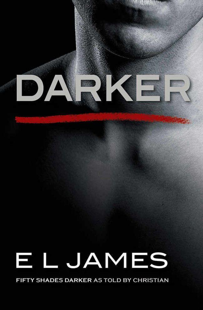 Couverture du cinquième tome, Darker, de la série Cinquante nuances de grey