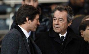 Michel Denisot (ici aux côtés de Leonardo) devrait être le prochain président de la LFP.