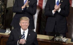Donald Trump a prononcé son discours de politique générale face au Congrès le 28 février