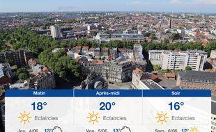 Météo Lille: Prévisions du mercredi 3 juin 2020