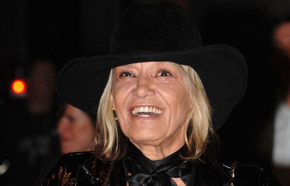 L'actrice Anita Pallenberg à Londres en 2007 – WENN