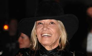 L'actrice Anita Pallenberg à Londres en 2007