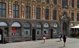 La joaillerie de la Vieille-Bourse, à Lille.