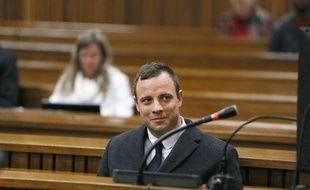 Oscar Pistorius lors de son procès à Pretoria le 8 juillet 2014
