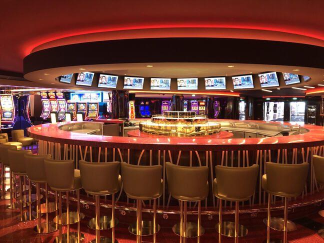 Le casino du paquebot.