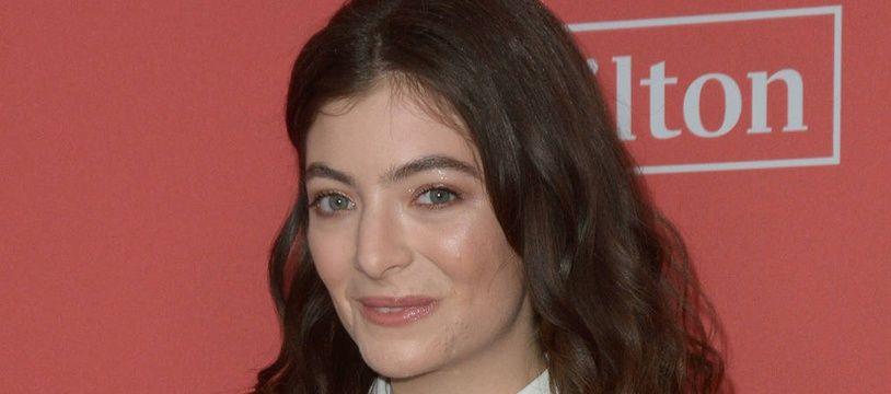 La chanteuse Lorde
