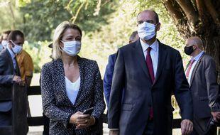 Barbara Pompili, ministre de la transition écologique, ici aux cotés du Premier ministre Jean Castex, le 22 août 2020.