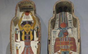 Le musée des Beaux-arts de Lyon lance une opération de financement participatif auprès des visiteurs, pour restaurer l'extérieur du cercueil d'Isetenkheb.