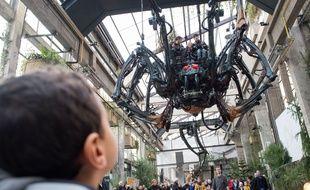 La galerie des Machines de l'île à Nantes