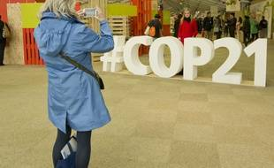 Ambiance à la COP21, au Bourget, le 10 décembre 2015.