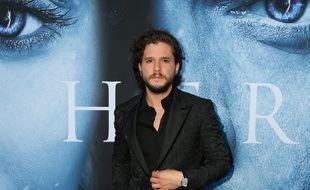 L'acteur Kit Harrington à la première de Game of Thrones saison 7, à Los Angeles.