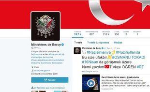 Le compte Twitter de Bercy a été piraté mercredi 15 mars.