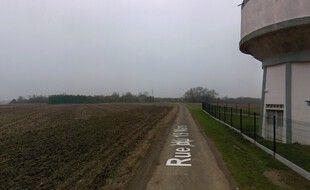 La sortie du village de Vis-en-Artois où le cadavre a été retrouvé.