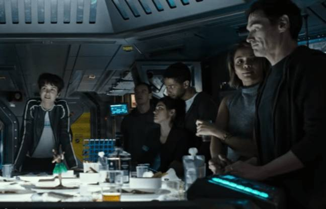 video alien covenant un prologue du film de ridley scott d voil. Black Bedroom Furniture Sets. Home Design Ideas