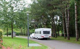 Le camping des Gayeulles, à Rennes.