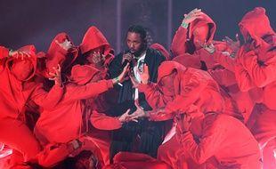 Kendrick Lamar a chanté son engagé «XXX» aux Grammy Awards 2018.