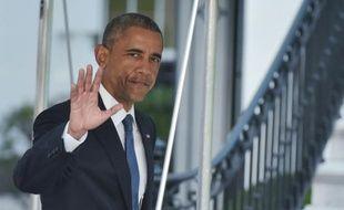 Le président américain Barack Obama le 23 juillet 2015 à la Maison Blanche à Washington