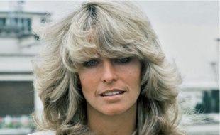 L'actrice Farrah Fawcett, star de la télé et sex-symbol des années 1970.