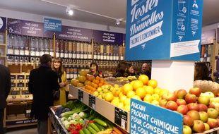 Pendant deux mois, Biocoop testera rue Château d'eau une boutique 100% vrac.