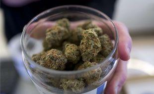 Du cannabis dans un dispensaire aux Etats-Unis (illustration).