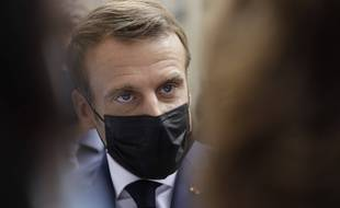 Emmanuel Macron à Paris, le 6 octobre 2020. (illustration)