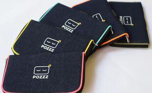 Genius Objects, start-up spécialiste du textile connecté, a sorti Pozzz, une pochette qui comptabilise le temps de déconnexion du smartphone.