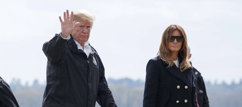 Certains internautes pensent que Melania Trump aurait un double lors de certains déplacements.