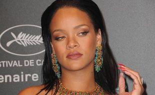 Rihanna à la Chopard Space Party le 19 mai 2017.