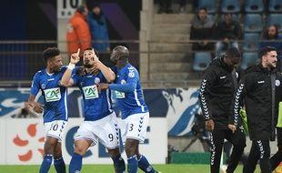 Strasbourg-Lille: Idriss Saadi retrouve le chemin des filets en Coupe de France.