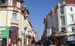 La rue saint-Jean, au Touquet (illustration).
