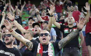 Les ultras de la Carpathian Brigade étaient présents mercredi dans les gradins de l'Allianz Arena.