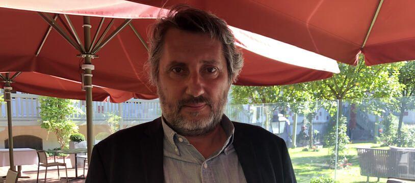 Bruno Podalydès à l'Hôtel Normandy pendant le Festival de Deauville 2020