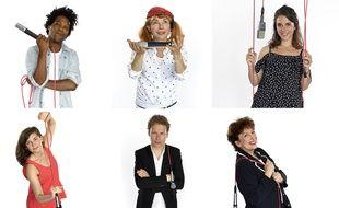 Christophe Chassol, Julie Depardieu, Aliette de Laleu, Suzanne Gervais, Antoine Pecqueur et Roselyne Bachelot, chroniqueurs à France Musique.