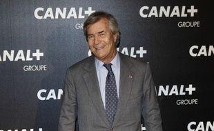 Vincent Bolloré, président du groupe Canal+.