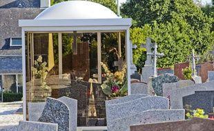 Photo d'illustration d'un cimetière de gens du voyage.