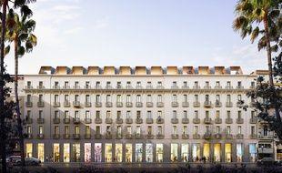 Vue du futur hôtel 5 étoiles de l'avenue de Verdun