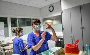 Le nombre de malades hospitalisés avec le Covid-19 continue de grimper, selon les chiffres de Santé Publique France (illustration).
