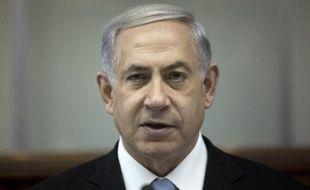Le Premier ministre israélien Benjamin Netanyahu, le 18 janvier 2015 à Jérusalem