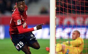 Nicolas Pepe a ouvert le score face à Saint-Etienne