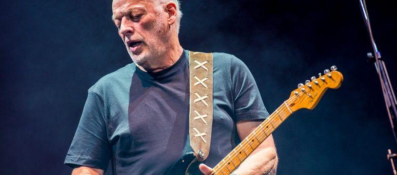L'artiste David Gilmour