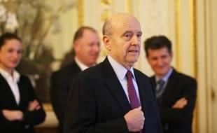 Alain Juppé, le 1er février 2019 à la mairie de Bordeaux
