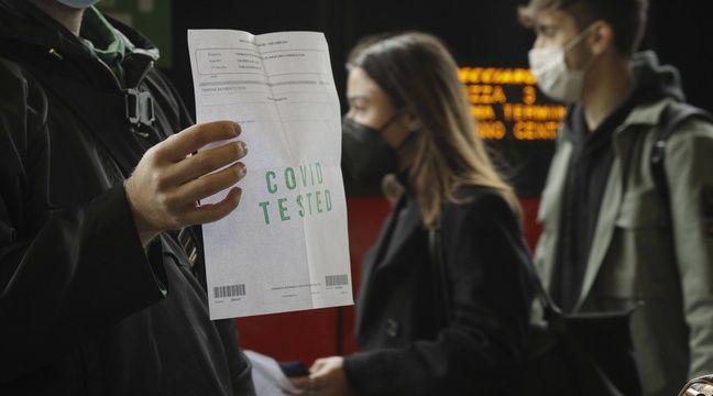 Le test obligatoire pour prendre le train expérimenté en Italie