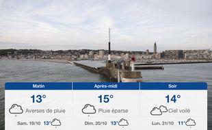 Météo Le Havre: Prévisions du vendredi 18 octobre 2019