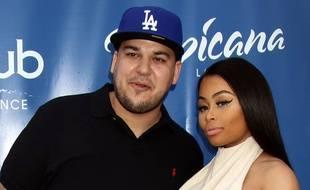 Les stars de télé-réalité Rob Kardashian et Blac Chyna