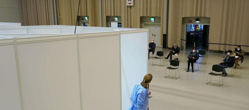 Un centre de vaccination contre le Covid-19 en Allemagne (image d'illustration)..