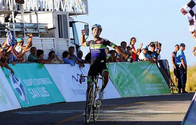Eduardo Seplveda avait remport la 4e tape du Tour de San Luis (Argentine), le 21 janvier.