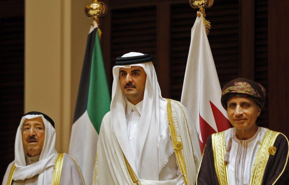 Plusieurs pays du conseil de coopération du Golfe (CCG) accusent le Qatar - dirigé par l'émir al-Thani (photo) - de soutenir le terrorisme. – STRINGER / AFP