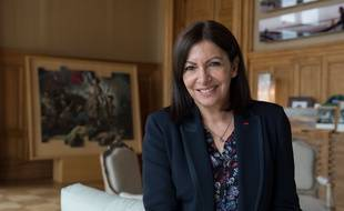 Anne Hidalgo ne compte pas quitter son bureau de la mairie de Paris.